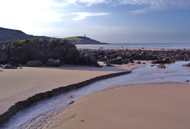 Killantringan Bay and Knock Bay beach, Stranraer, Dumfries and Galloway