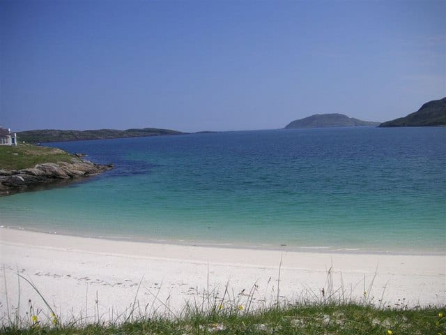 Vatersay Bay beach, Isle of Vatersay, Outer Hebrides