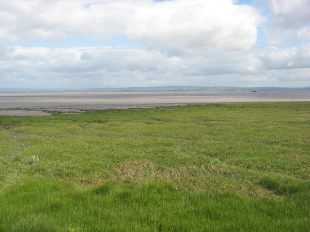 Portishead beach, Portishead, Somerset