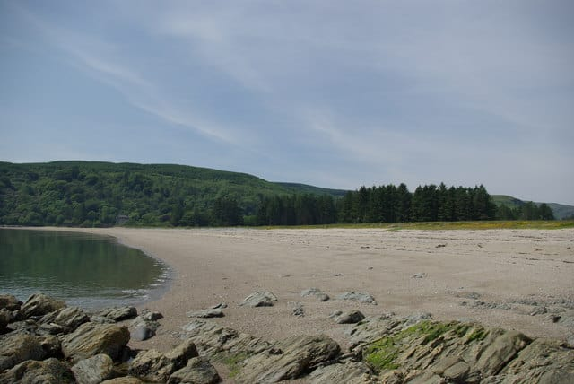 Saddell Bay beach, Kintyre, Argyll and Bute