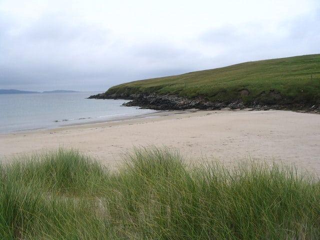 West Sandwick beach, Isle of Yell, Shetland Islands