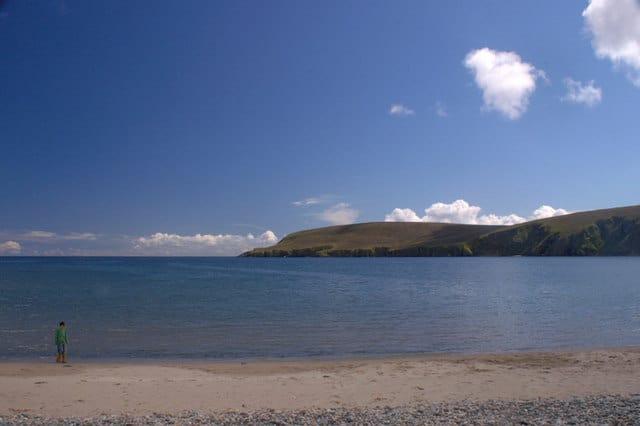 Tresta beach, Fetlar, Shetland Islands