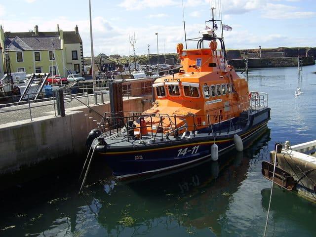 Eyemouth lifeboat station, Eyemouth, The Scottish Borders