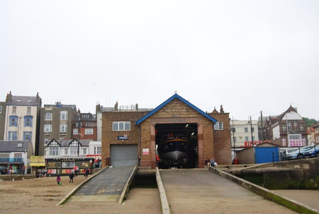 Scarborough lifeboat station, Scarborough, North Yorkshire