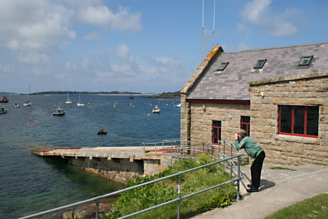 St Marys lifeboat station, Isles of Scilly, Cornwall