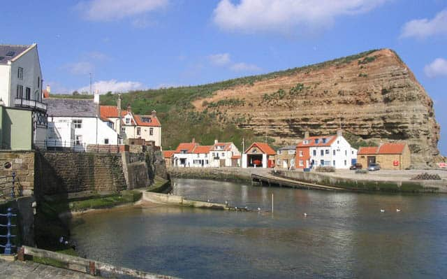 Staithes and Runswick lifeboat station, Staithes, North Yorkshire