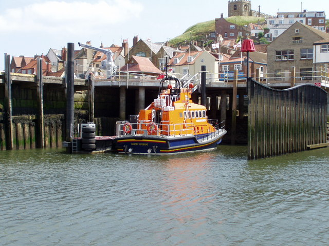 Whitby lifeboat station, Whitby, North Yorkshire