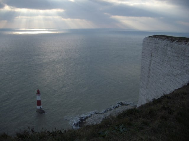 Beachy Head lighthouse, Beacht Head, East Sussex