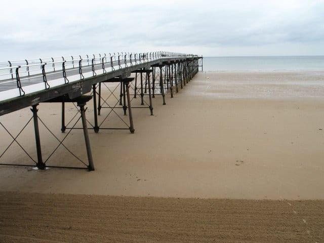 Saltburn pier, Saltburn-by-the-sea, North Yorkshire