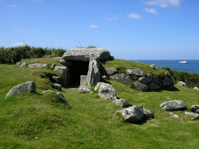 Bants Carn Burial Chamber, Isles of Scilly, Cornwall