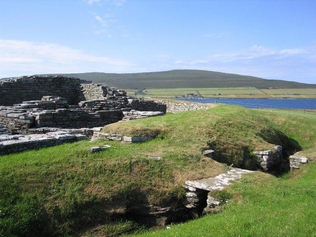Cubbie Roos Castle, Wyre, Orkney Islands