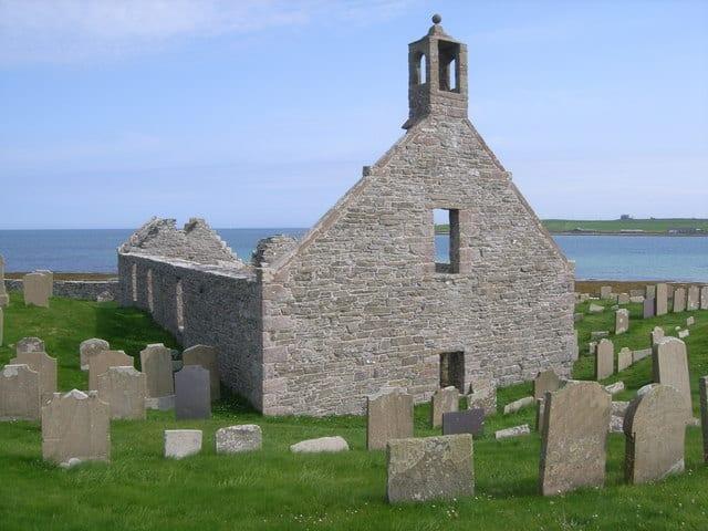 Pierowall Lady Kirk, Orkney, Orkney Islands