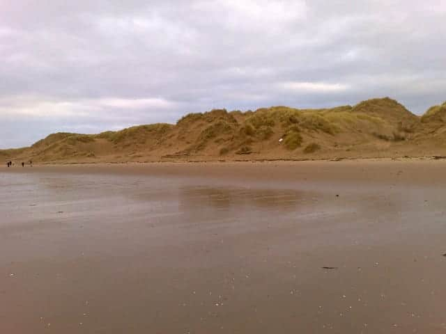 Formby beach, Southport, Merseyside