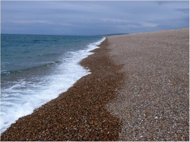 Chesil Bank beach, Weymouth, Dorset