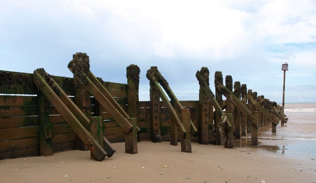 Withernsea beach, Withernsea, East Riding of Yorkshire