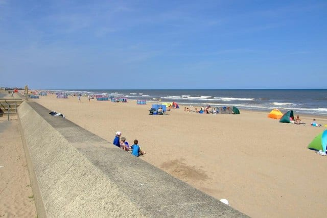 Sutton-on-Sea beach, Mablethorpe, Lincolnshire
