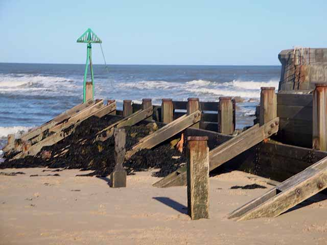 Seaton Sluice beach, Seaton, Tyne and Wear