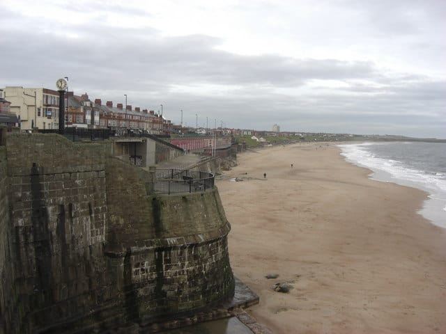 Whitley Bay beach, Tynemouth, Tyne and Wear