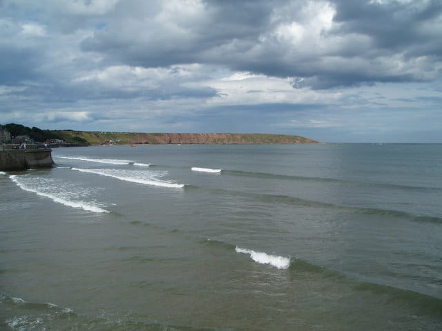 Filey Sands beach, Scarborough, North Yorkshire