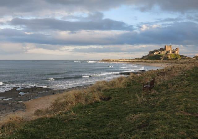 Bamburgh beach, Bamburgh, Northumberland