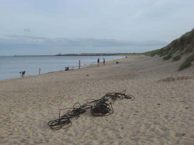 Warkworth beach, Warkworth, Northumberland