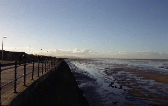 Meols beach, Hoylake, Merseyside