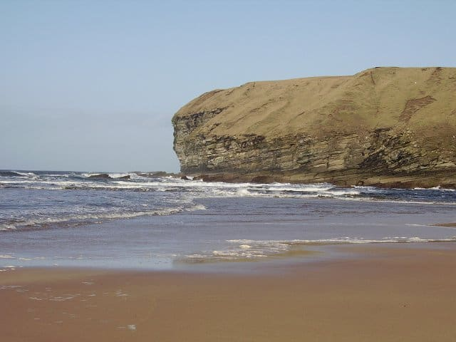 Strathy Bay beach, Thurso, The Scottish Highlands