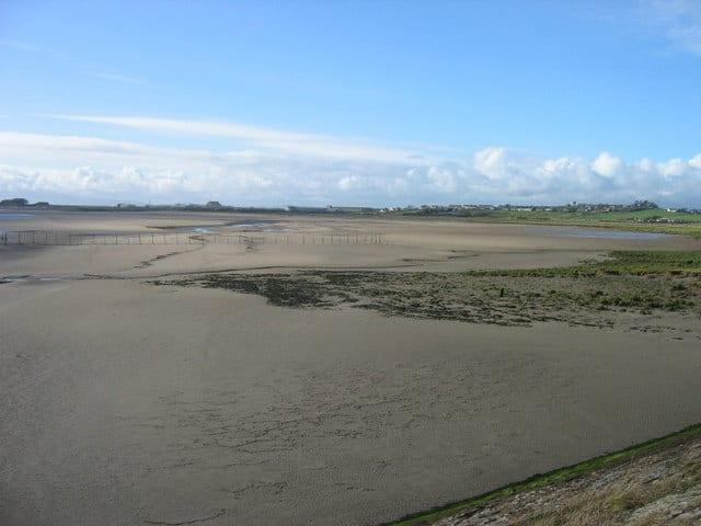Annan beach, Annan, Dumfries and Galloway
