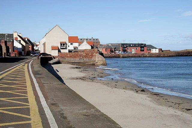 Dunbar East beach, Dunbar, East Lothian