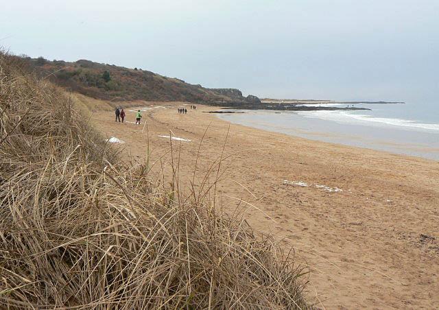 Gullane beach, Gullane, East Lothian