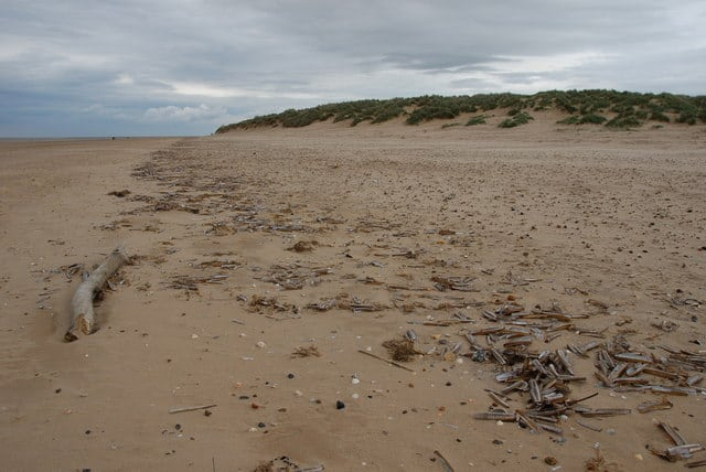 Holkham Bay beach, Holkham, Norfolk