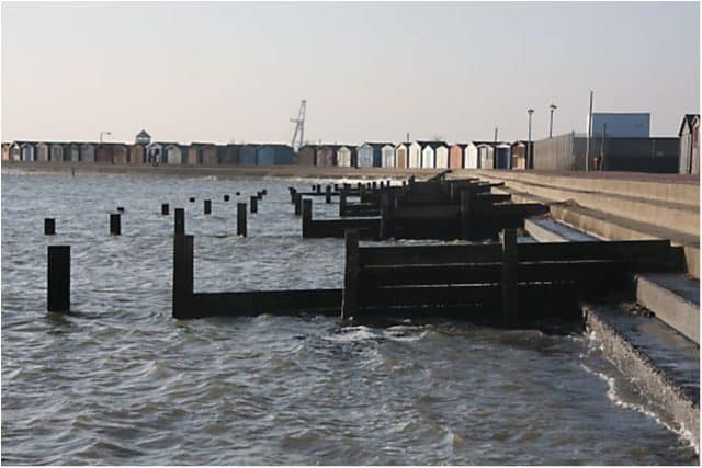 Brightlingsea beach, Brightlingsea, Essex