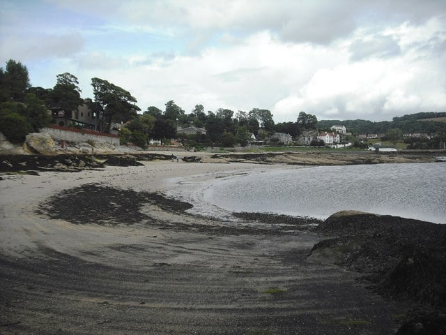 Black Sands beach, Aberdour, Fife