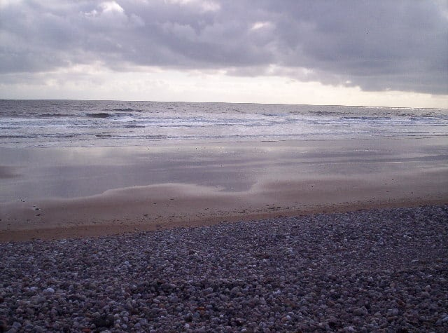 Arbroath beach, Arbroath, Angus