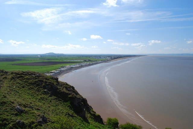 Brean-Down-beach