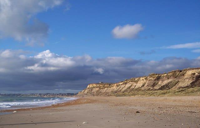 Hengistbury Head beach, Christchurch, Dorset