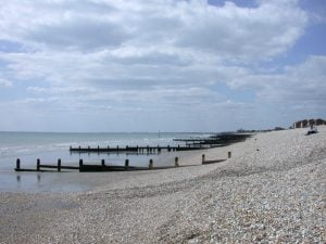 Bracklesham Bay beach, Chichester, West Sussex