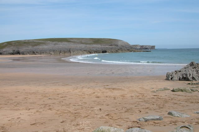 Broadhaven-beach