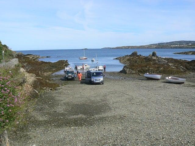 Bull Bay beach, Amlech, Isle of Anglesey
