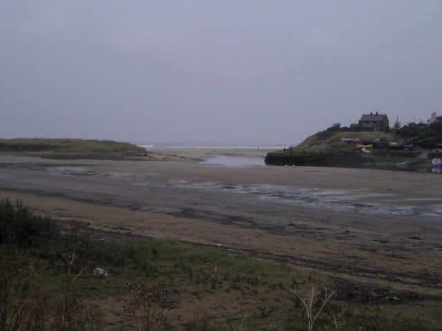 North Seaton beach, Ashington, Northumberland