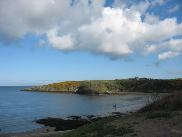 Cemaes Bay beach, Cemaes, Isle of Anglesey