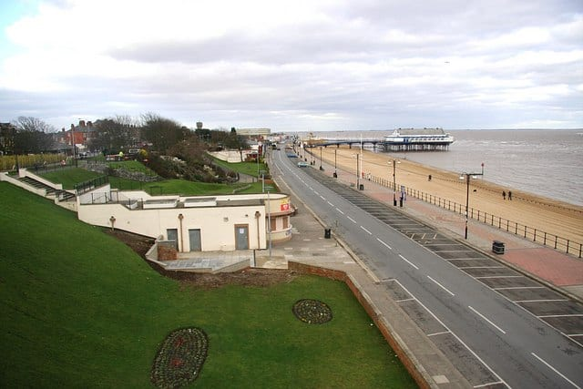 Cleethorpes beach, Cleethorpes, Lincolnshire