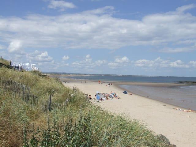 Cresswell beach, Ashington, Northumberland
