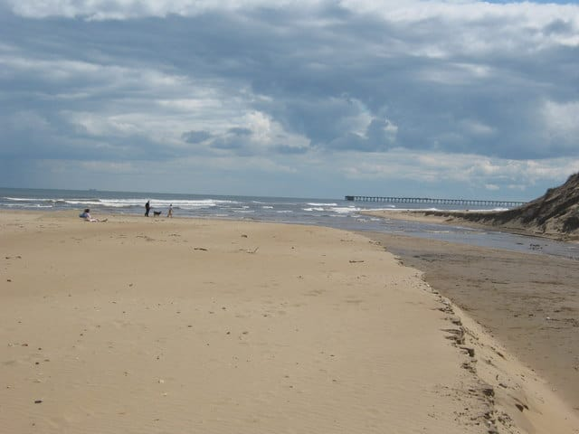 Crimdon Beck beach, Hartlepool, Durham