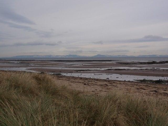 Doonfoot beach, Ayr, Ayrshire