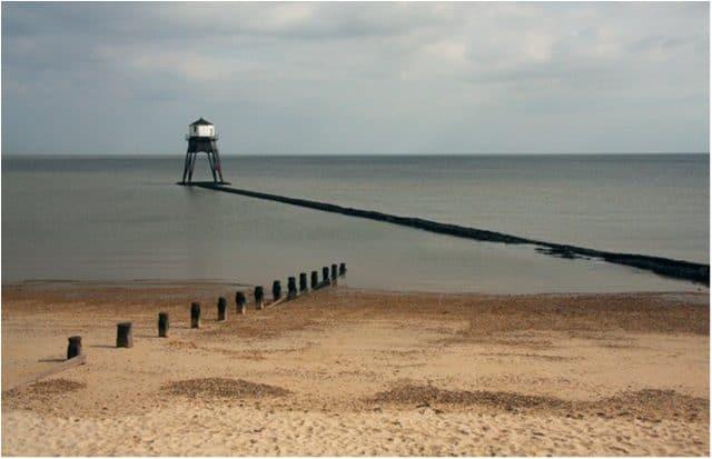 Dovercourt Bay beach, Harwich, Essex