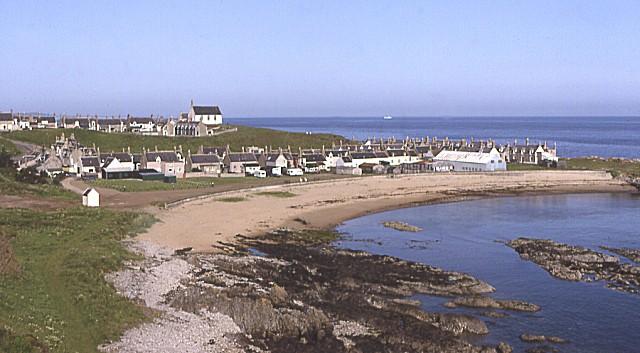 Findochty beach, Buckie, Moray