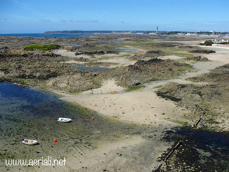 Green Island beach, Saint Helier, Jersey, Channel Islands