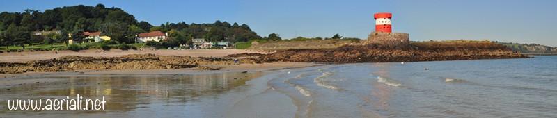 Archirondel beach, Saint Helier, Jersey, Channel Islands