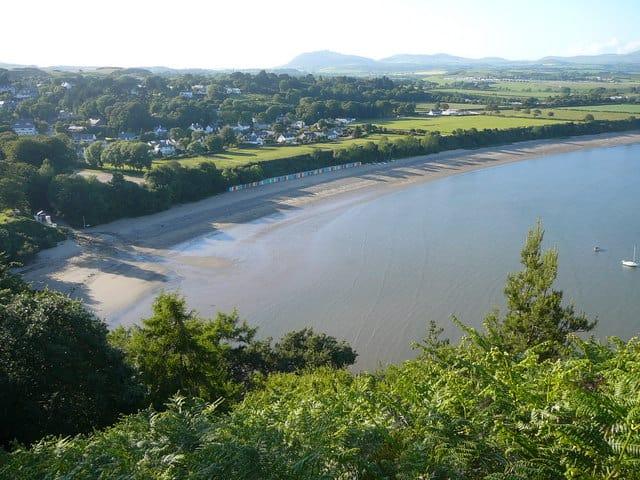 Llanbedrog beach, Llyn Peninsula, Gwynedd